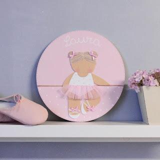 placa-puerta-infantil-personalizada-ballet