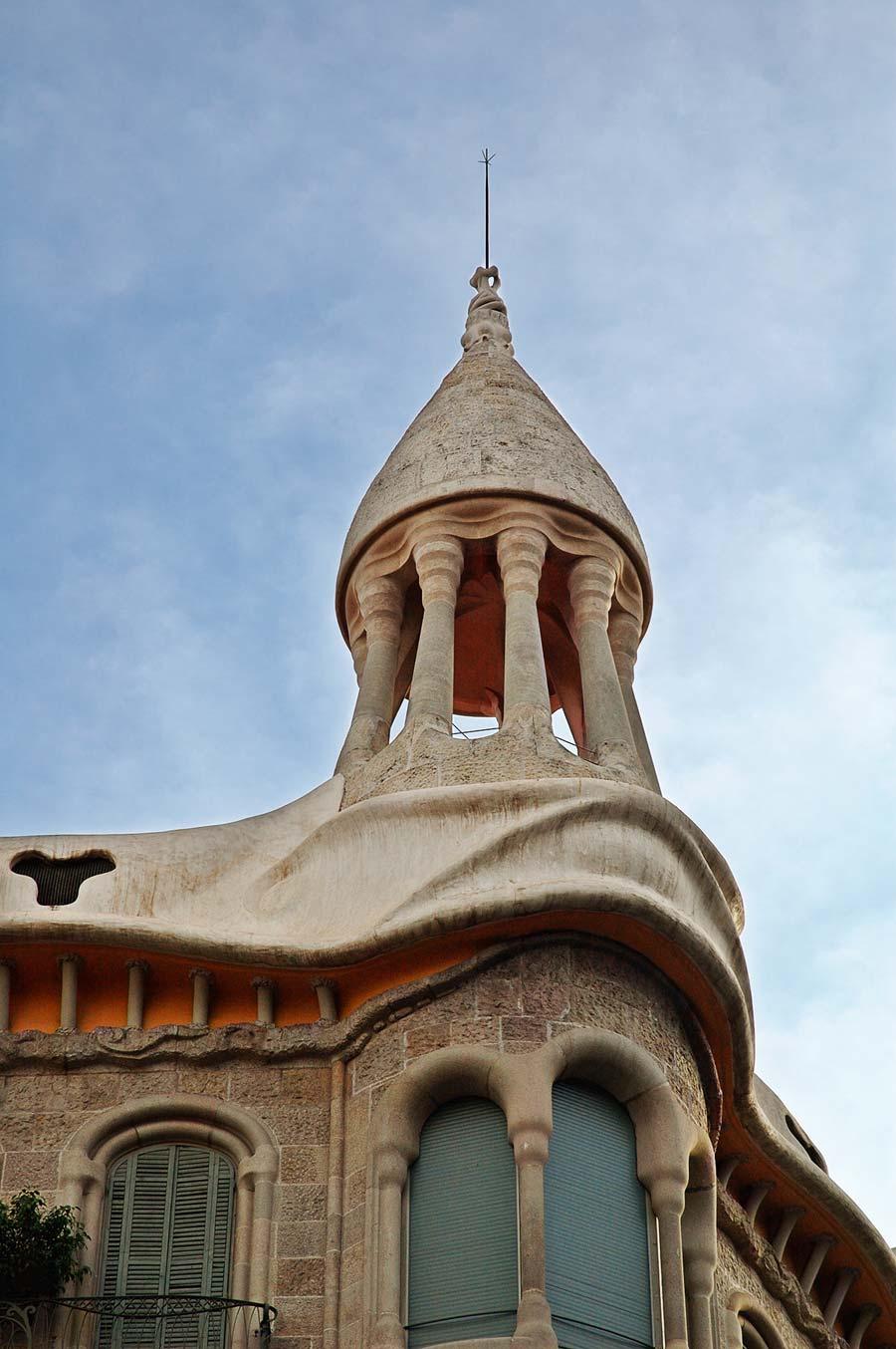 Casa Sayrach: An Art Nouveau Fantasy in Barcelona