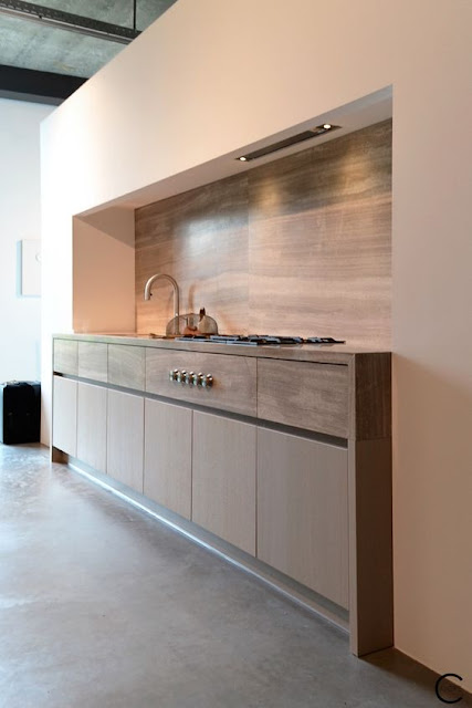 Modern luxury kitchen minimal sophisticated interior design by Piet Boon