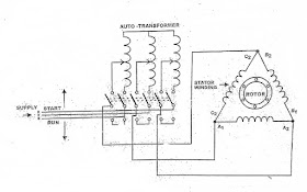 autotransformer starter working principle,wiring and control diagram Delta Transformer Wiring Diagram