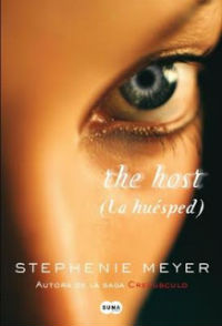 portada del libro la huésped the host de Stephenie meyer