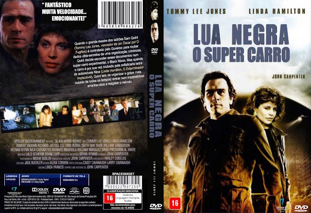 Capa DVD Lua Negra O Super Carro