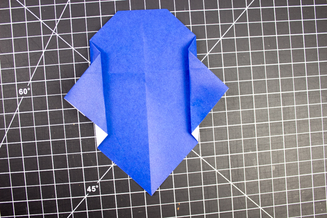 How to Fold Origami Vampire Faces- Super Easy Halloween Origami for kids!