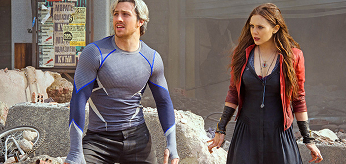 Scarlet Witch şi Quicksilver