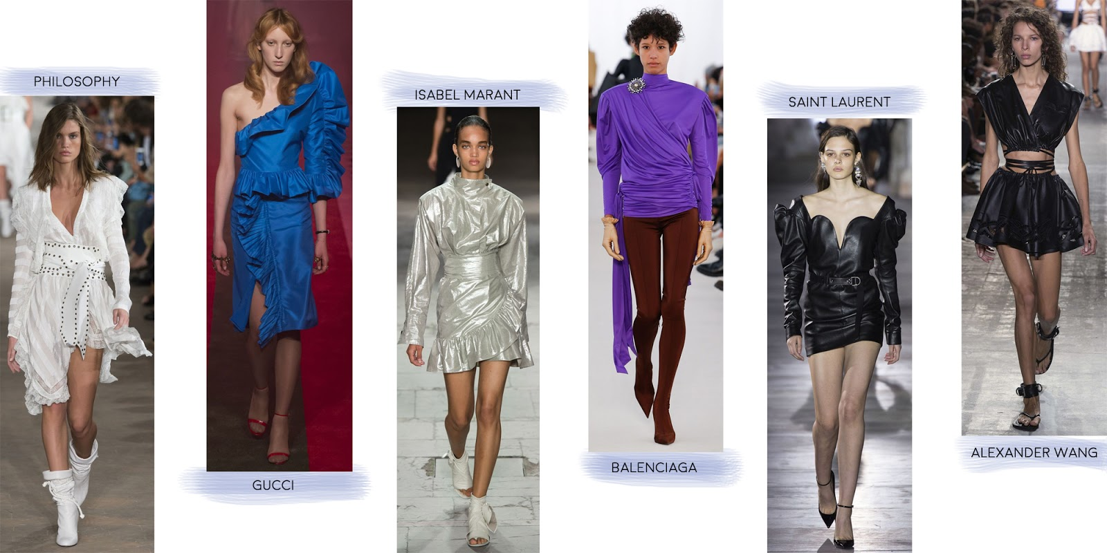 Isabel Marant, Gucci, Saint Laurent & more showing the Eighties trend