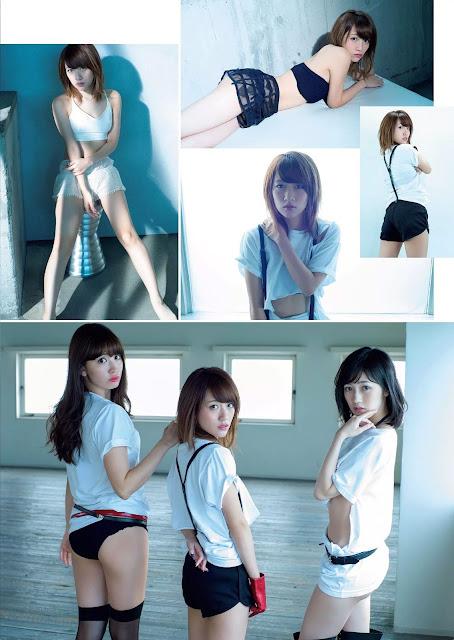 AKB48 Weekly Playboy 週刊プレイボーイ Dec 2015 Photos 6