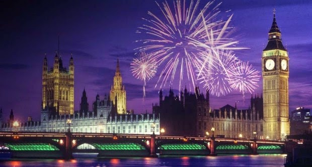 Happy New Year 2016 Eve London Celebration Images 1080p