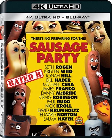 Sausage Party 4K (La Fiesta de las Salchichas 4K) (2016) 2160p 4K UltraHD HDR BDRip 11GB mkv Dual Audio Dolby TrueHD ATMOS 7.1 ch