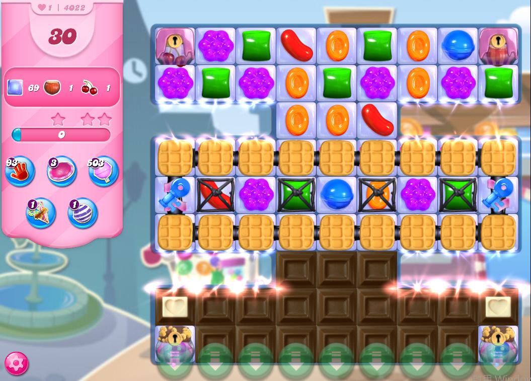 Candy Crush Saga level 4022