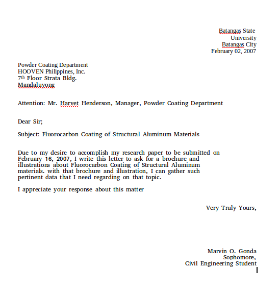 culture and business relationship letter
