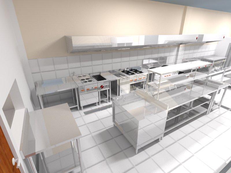 Desain Dapur Restoran