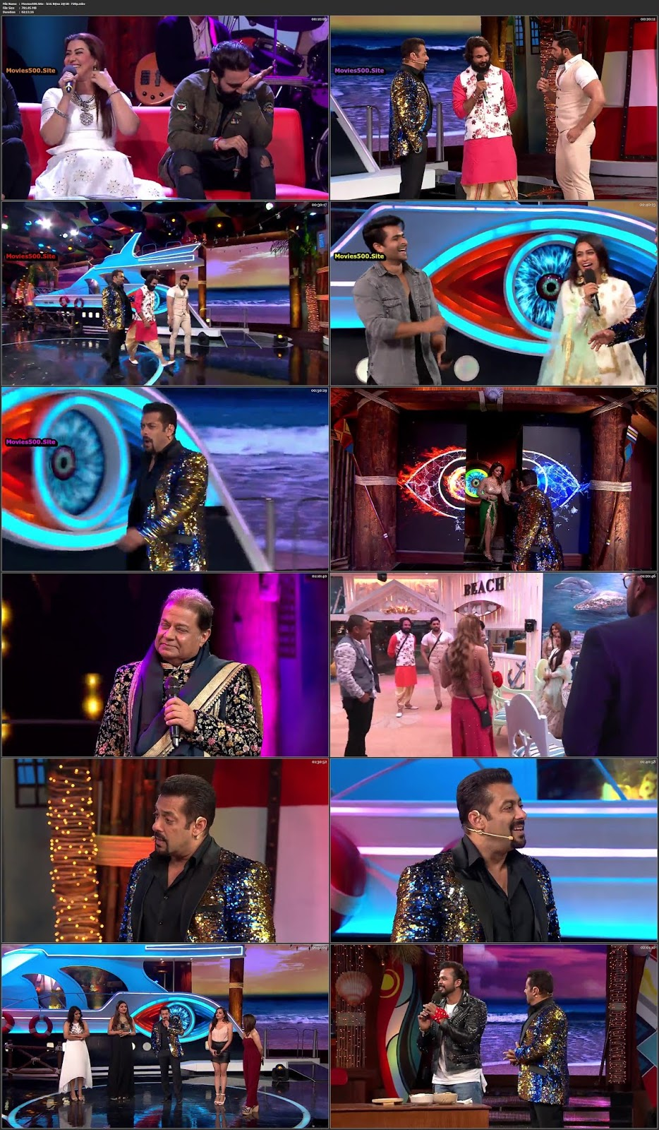 Bigg Boss S12E01 16th September 2018 Grand Premiere HDTV 720p