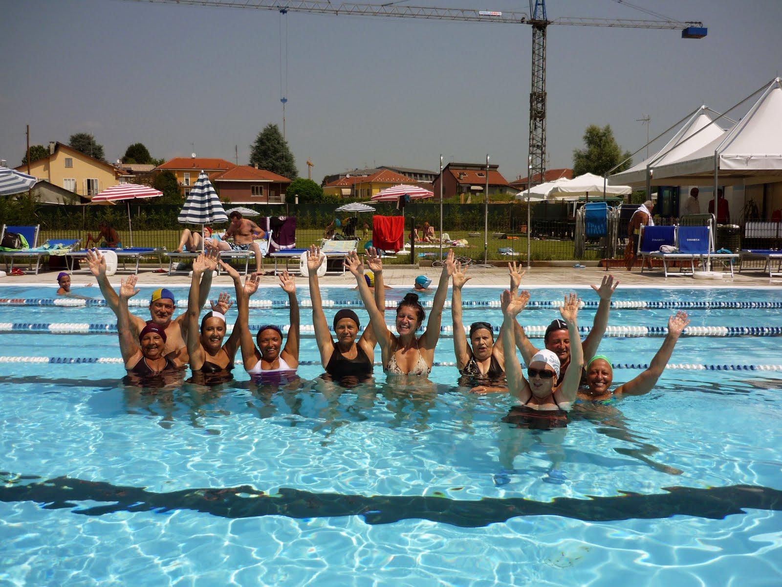 Unitre Poirino Estate in piscina