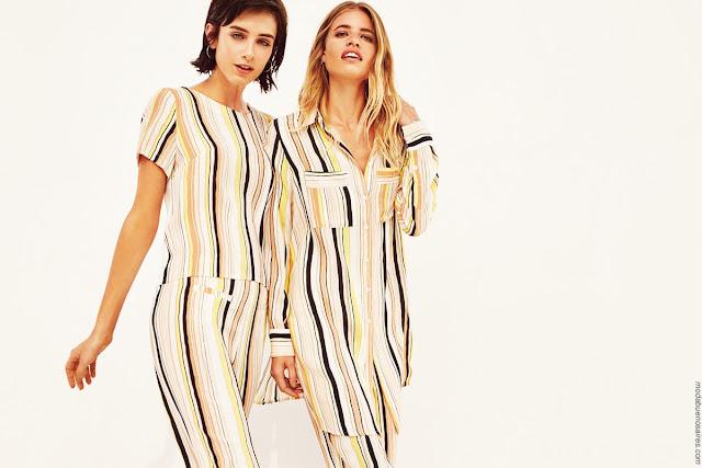 Blusas, remeras, pantalones Vitamina primavera verano 2019 │ Moda primavera verano 2019.