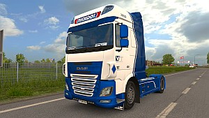 Nickoot DAF Euro 6 skin