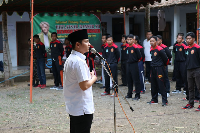 Buka Diklatsar Banser, Wabup Arifin Tekankan Wajib Menjaga Pancasila