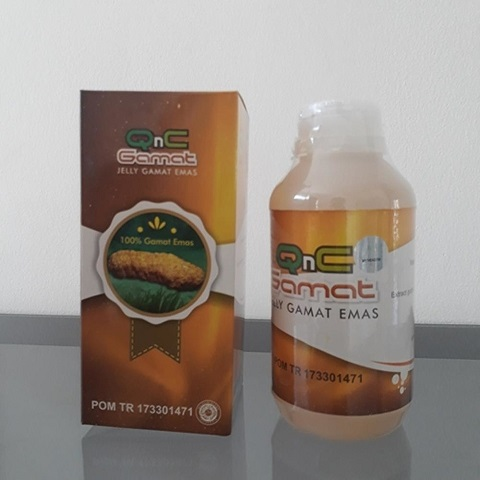 Agen QnC Jelly Gamat Emas Asli Di Surabaya