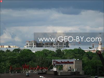 Минск. Оперный театр и Министерство обороны