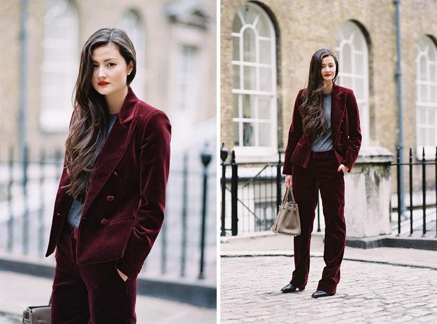 Vanessa Jackman London Fashion Week Aw 2015 Peony