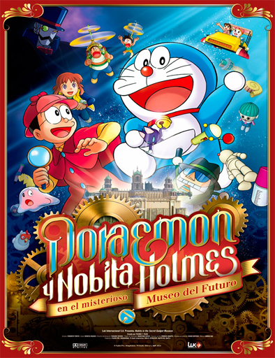 ver Doraemon y Nobita Holmes en el Misterioso Museo del Futuro (2013) Online