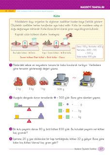 5. Sınıf Fen Bilimleri Ders Kitabı Cevapları Ada Sayfa 67