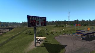 ets 2 real advertisements v1.3 screenshots, finland 3