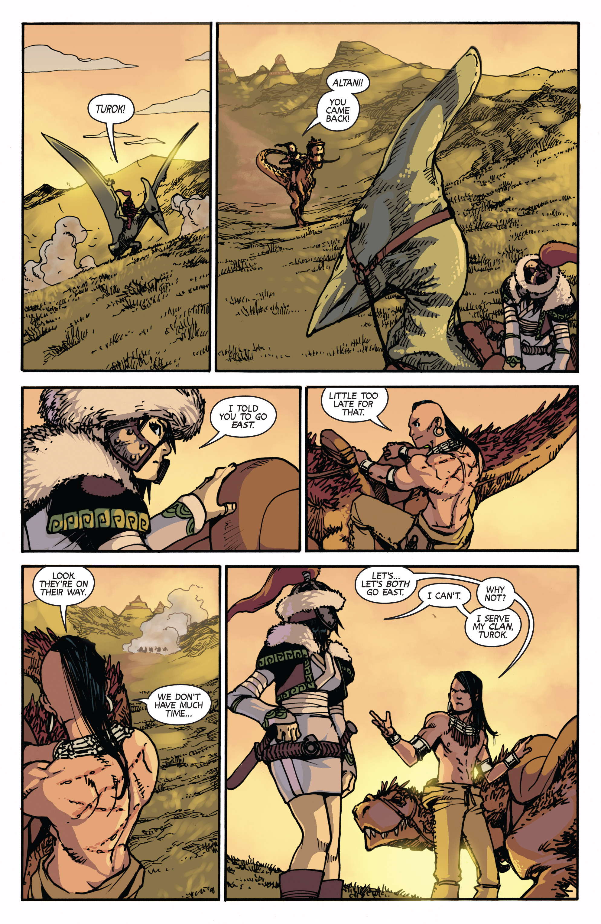 Read online Turok: Dinosaur Hunter (2014) comic -  Issue # _TPB 2 - 37