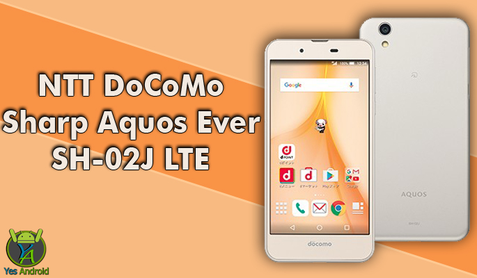 NTT DoCoMo Sharp Aquos Ever SH-02J LTE Full Specs Datasheet