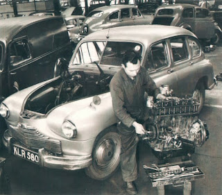 Standard Vanguard in Lambs Ltd workshop image 2