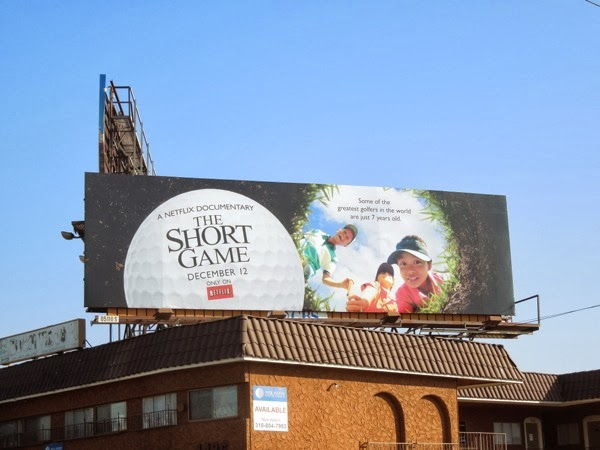 Short Game NetFlix billboard