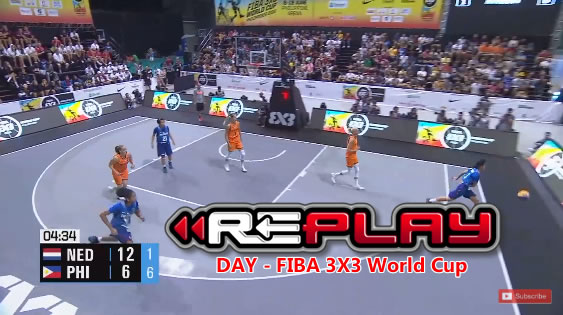 Video Playlist: DAY 1 FIBA 3X3 World Cup Philippines Replay