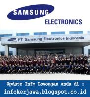 Lowongan Kerja PT Samsung Electronics Indonesia