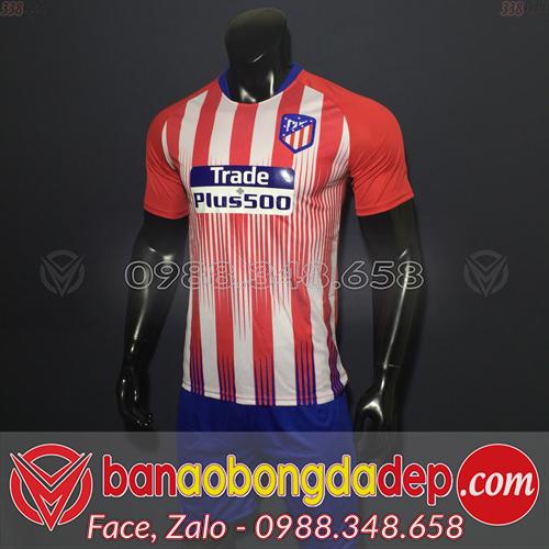 Áo Câu Lạc Bộ Atletico Màu Đỏ Trắng Sân Nhà 2019