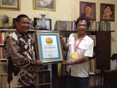 Raih 182 Penghargaan Internasional, Jitet Pecahkan Rekor LEPRID