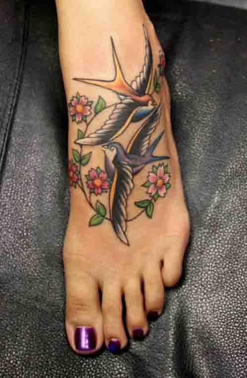 ayak dövme resimleri