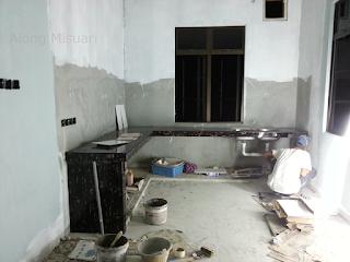 Rumah Idaman : Sambungan Pemasangan Kabinet Dapur
