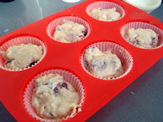 Elaboración de muffins
