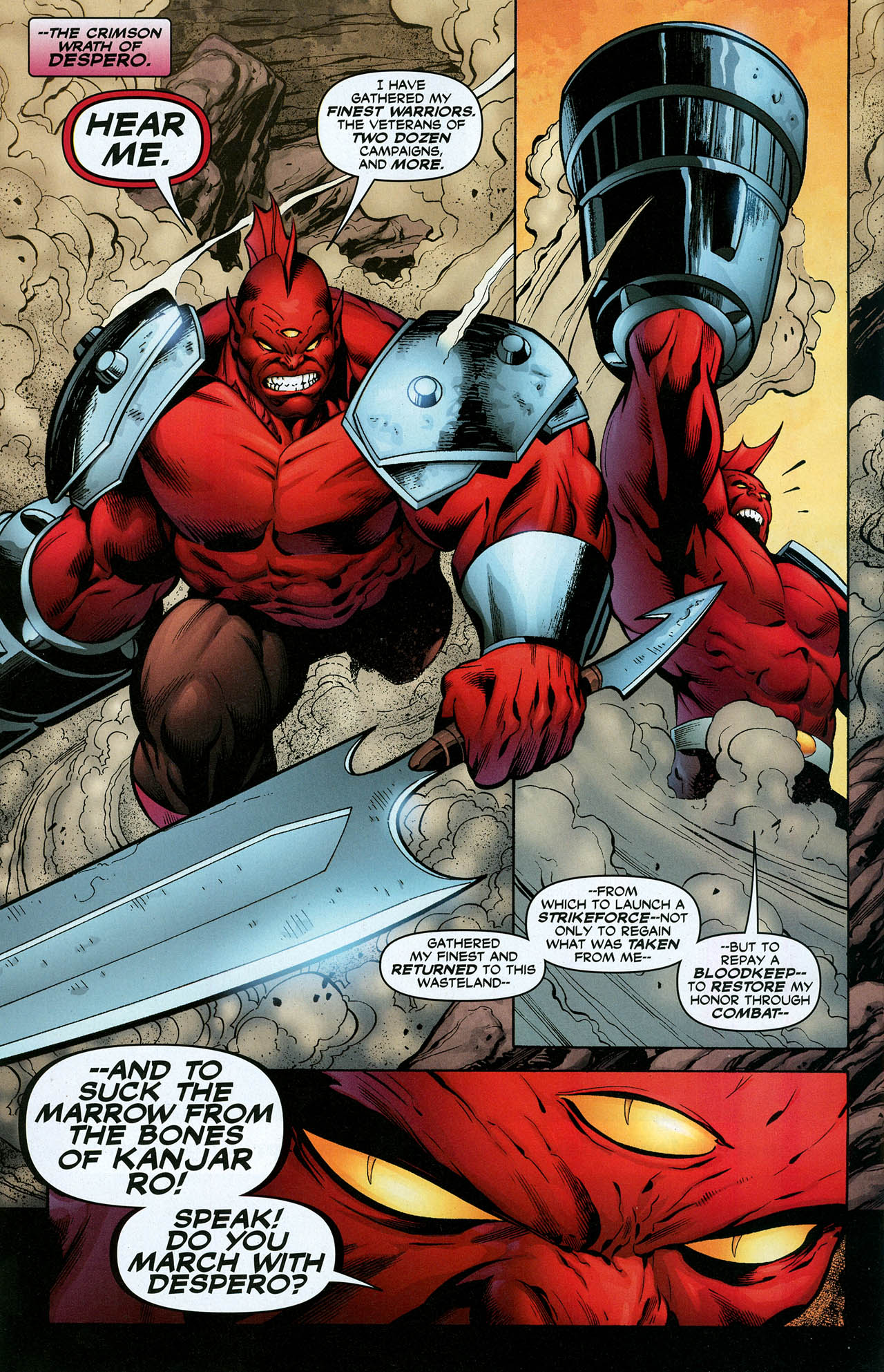 Read online Trinity (2008) comic -  Issue #23 - 25