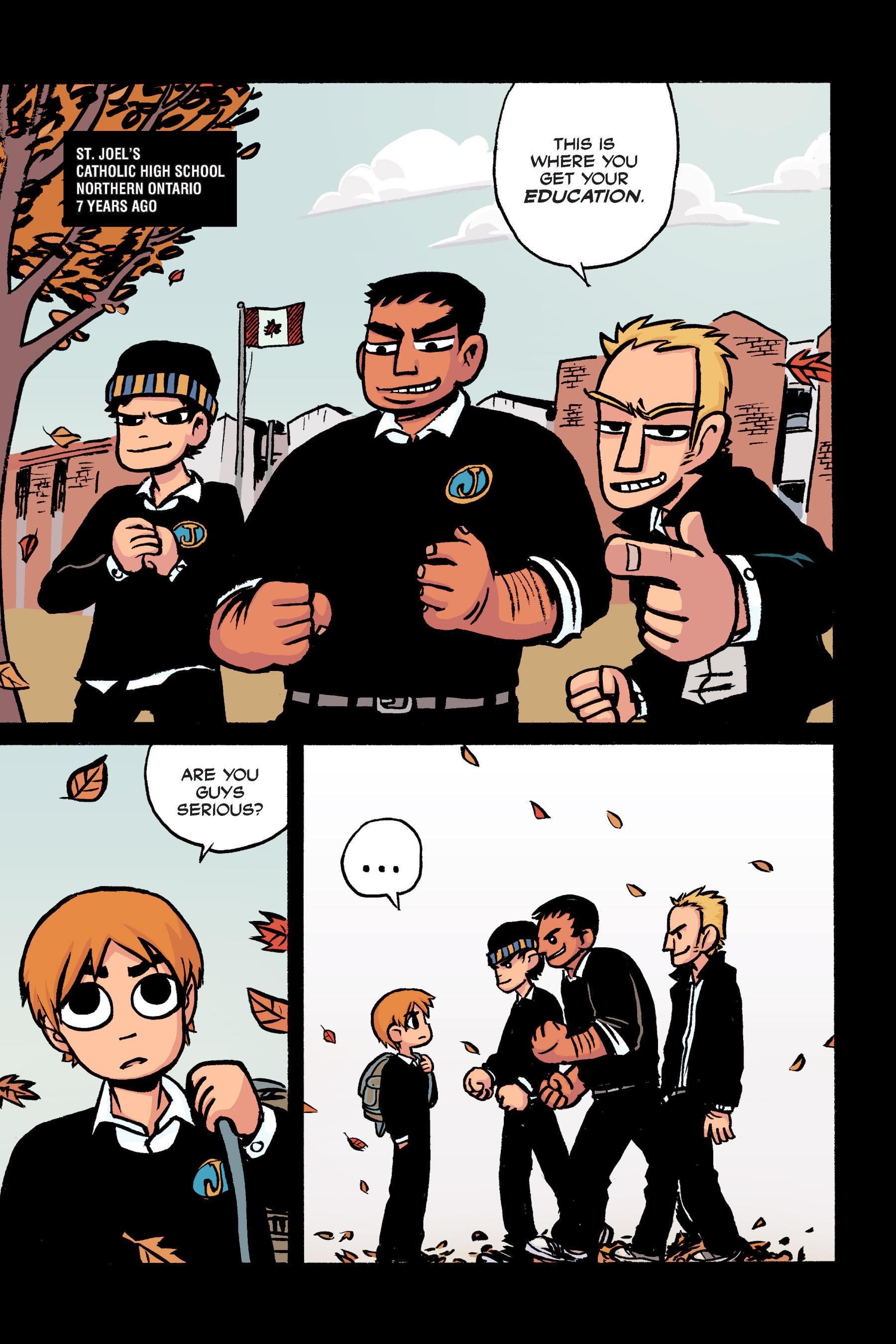 Read online Scott Pilgrim comic -  Issue #2 - 6