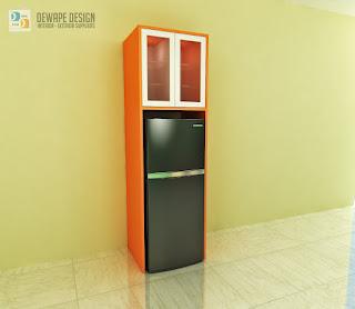 desain tempat kulkas