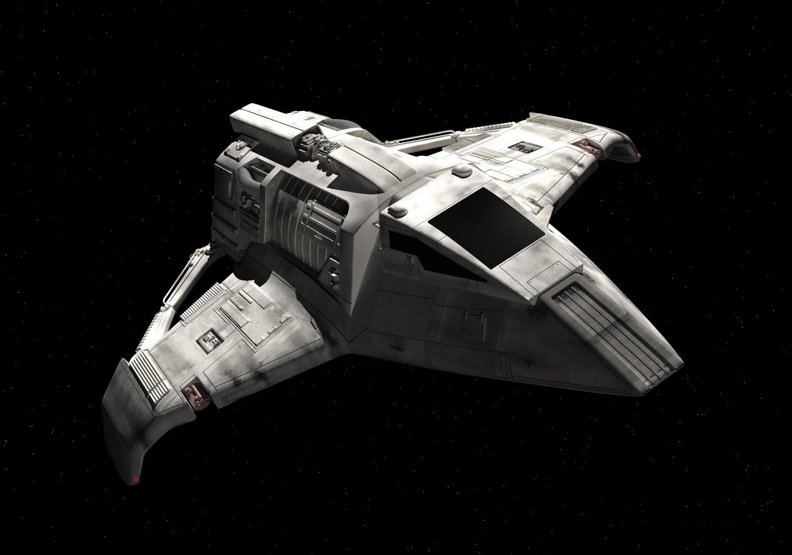 STAR TREK EAGLEMOSS OFFICIAL STARSHIPS COLLECTION #76 BAXIAL NEELIX SHUTTLE SHIP