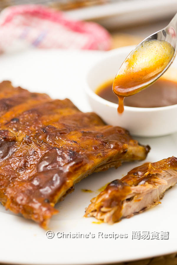 焗燒排骨 Smoky BBQ Pork Ribs Instant Pot01