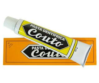 Pasta medicinal Couto - pasta de dentes tradicional em Portugal