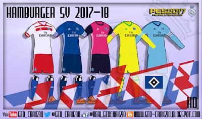 PES 2017 Kitpack BundesLiga 2017-18 HD by Geo_Craig90
