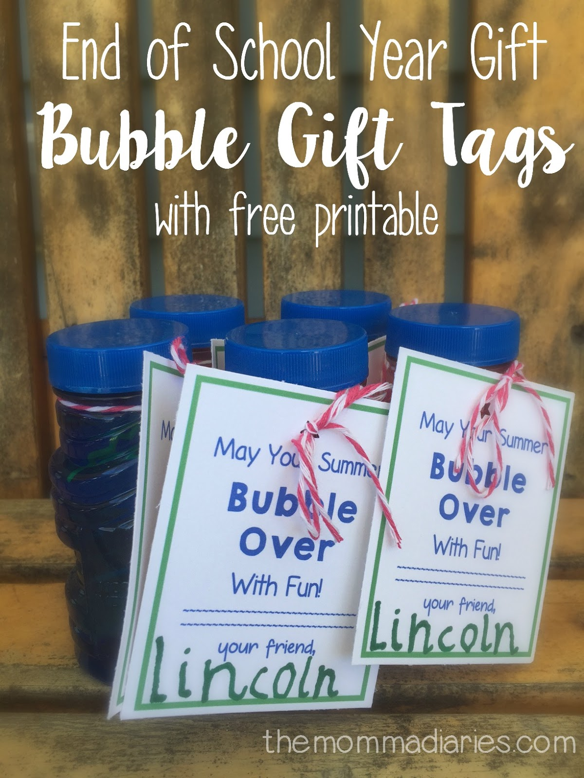 End Of School Year T Bubble T Tags And Free