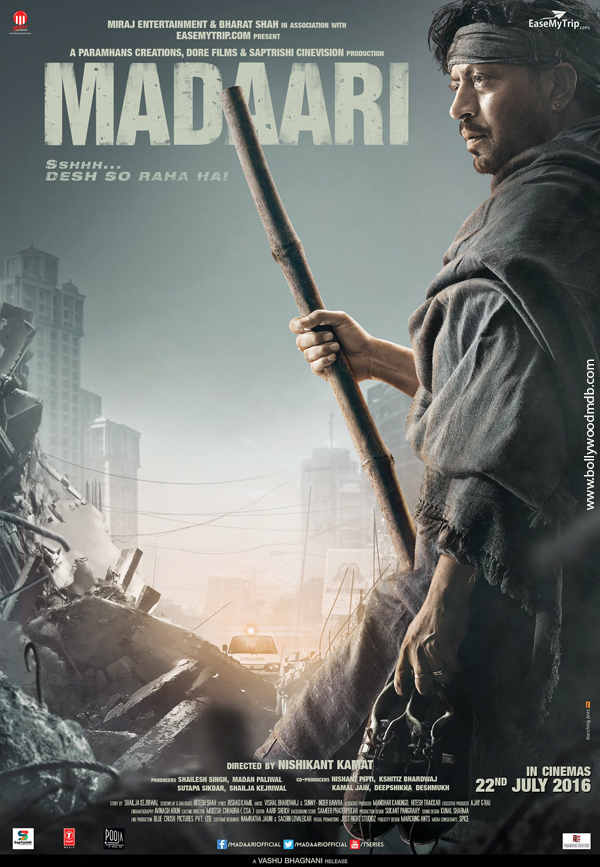 Madaari 2016 Hindi DVDScr 350mb, bollywood , hindi movie Madaari hindi movie Salman mvoie Madaari 2016 hd dvdscr 480p 300mb hdrip 400mb compressed small size free download or watch online at https://world4ufree.to