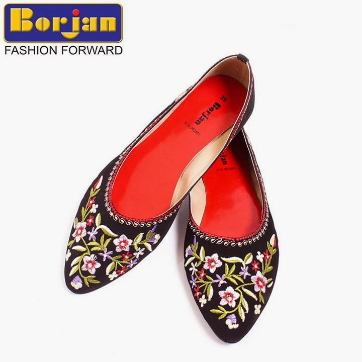 17f76389d Borjan Shoes Winter Footwear Collection 2015 For women