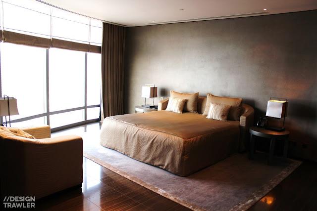 Design trawler for Armani hotel dubai interior design