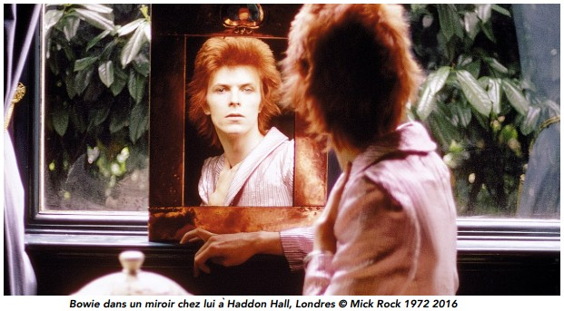 David Bowie - Haddon Hall - Londres - Mick Rock