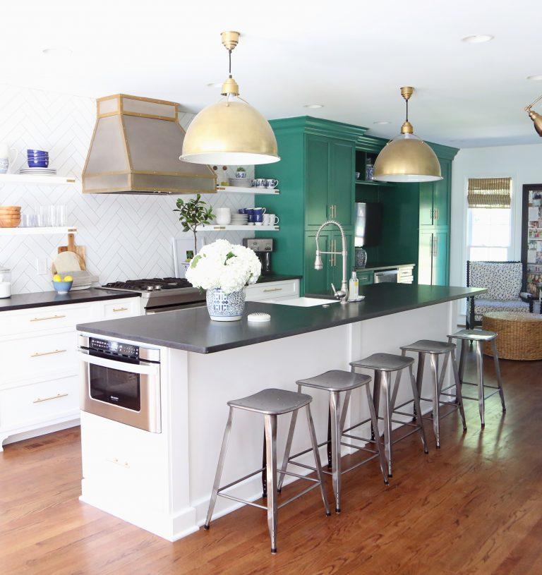 White Kitchen Renovation: Home Life Organization